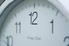 timepiece primetime clock