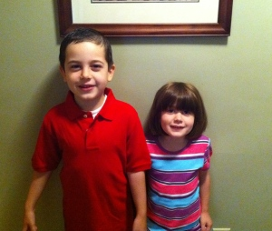 First Day of School - 2011