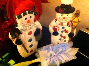 Cleaning Snowmen